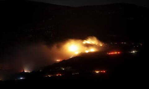 Φωτιά στον Ασπρόπυργο: Υπό μερικό έλεγχο η φωτιά στη Νέα Ζωή