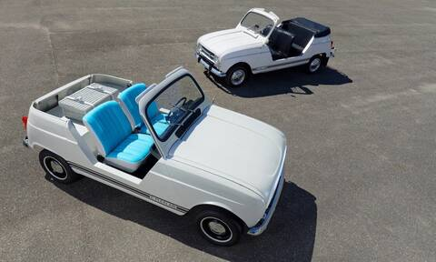 To θρυλικό Renault 4L ξαναζεί, αλλά ως ηλεκτρικό