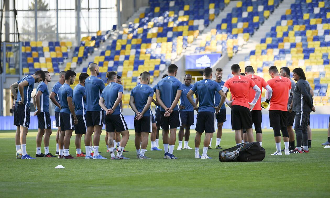 Ντουνάισκα Στρέντα - Ατρόμητος LIVE: O πρώτος αγώνας για το Εuropa League