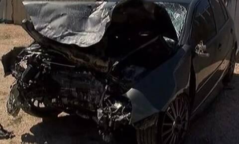 Αλέξανδρος Ζαχαριάς: Σοκάρουν οι εικόνες από το διαλυμένο αυτοκίνητο (vid)