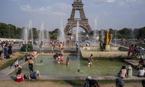 «Έλιωσε» η Ευρώπη - Ιστορικά ρεκόρ ζέστης σε Γαλλία και Γερμανία (pics)