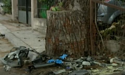 Αλέξανδρος Ζαχαριάς: Εικόνες που σοκάρουν από το διαλυμένο αυτοκίνητο - Εξαφανίστηκε ο κινητήρας