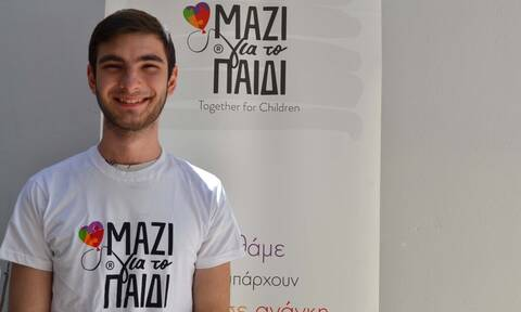 Γιώργος Βορδοναράκης: Ο εθελοντισμός στο «Μαζί για το Παιδί» μου άνοιξε νέους ορίζοντες
