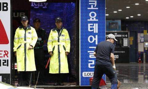 Τρόμος για Έλληνες αθλητές στη Νότια Κορέα: Κατέρρευσε οροφή κλαμπ - Δύο νεκροί (vid)
