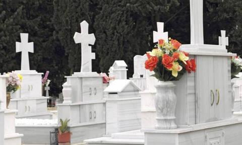 ΣΟΚ στη Χαλκίδα: Ξεψύχησε μέσα στο νεκροταφείο