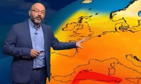 Καιρός: Προσοχή! Προειδοποίηση Αρναούτογλου για επερχόμενο έντονο κύμα ζέστης (video)