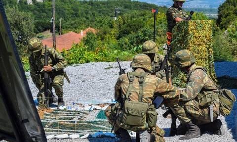 Ελαφρύς τραυματισμός ΕΠΟΠ του Στρατού Ξηράς