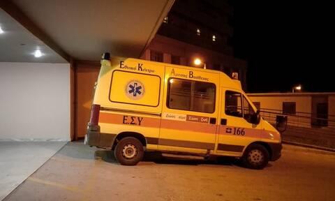 Φθιώτιδα: Ένας τραυματίας από την τριπλή καραμπόλα στο Μαρτίνο