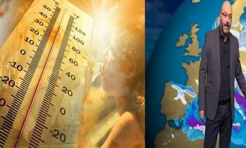 Καιρός: Έντονη αλλά σύντομη η επερχόμενη θερμή εισβολή. Η ανάλυση του Σάκη Αρναούτογλου (photo)
