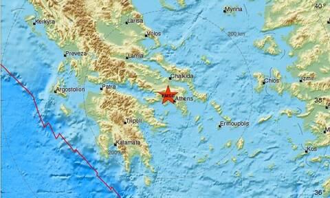 Σεισμός στην Αθήνα: Μεγαλύτερο μέγεθος δίνουν οι Αμερικάνοι και το Ευρωμεσογειακό
