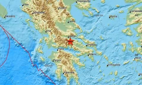 Σεισμός ΤΩΡΑ μεταξύ Αμφίκλειας και Λαμίας (pics)