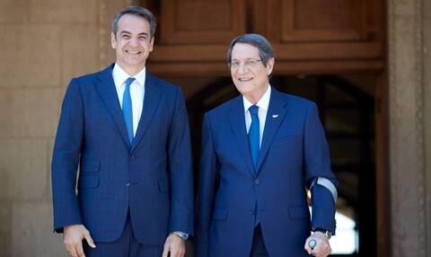 Μητσοτάκης: Η Κύπρος θα έχει τη συμπαράσταση της Ελλάδας στις τουρκικές προκλήσεις