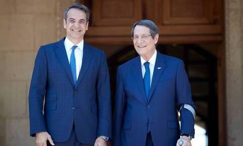Мицотакис: «Греция всегда будет защищать интересы Кипра»