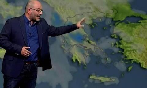 Καιρός: Προσοχή! Προειδοποίηση Σάκη Αρναούτογλου για ισχυρές καταιγίδες. Πού και πότε; (video)