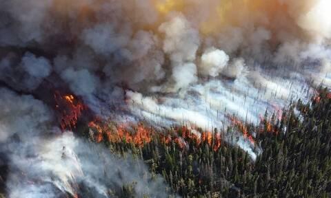 Φλέγεται η Σιβηρία: Οι φλόγες φαίνονται στο διάστημα