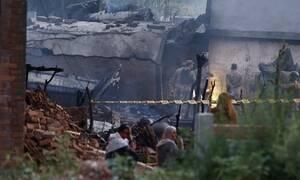 Τραγωδία στο Πακιστάν: 17 νεκροί από την συντριβή στρατιωτικού αεροσκάφους
