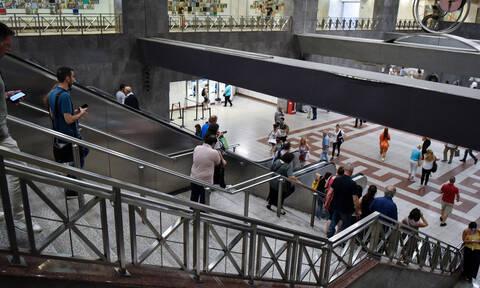 Συναγερμός στο Μετρό της Ακρόπολης για ύποπτη βαλίτσα