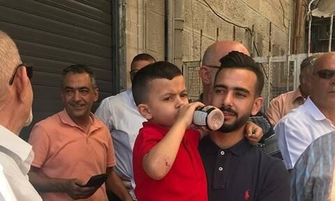 Ισραήλ: Κλήτευσαν 4χρονο Παλαιστίνιο γιατί πετούσε πέτρες!