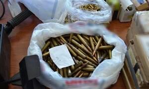 Κρήτη: Σφαίρες με το...«τσουβάλι» είχε στην κατοχή του 55χρονος (pics)