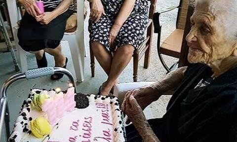 Ηλεία: Η super γιαγιά που στα 114 της κάνει απίστευτο χιούμορ!