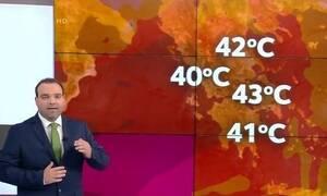 Καιρός: Προσοχή! Προειδοποίηση για τον επερχόμενο καύσωνα και τους 43 βαθμούς (video)
