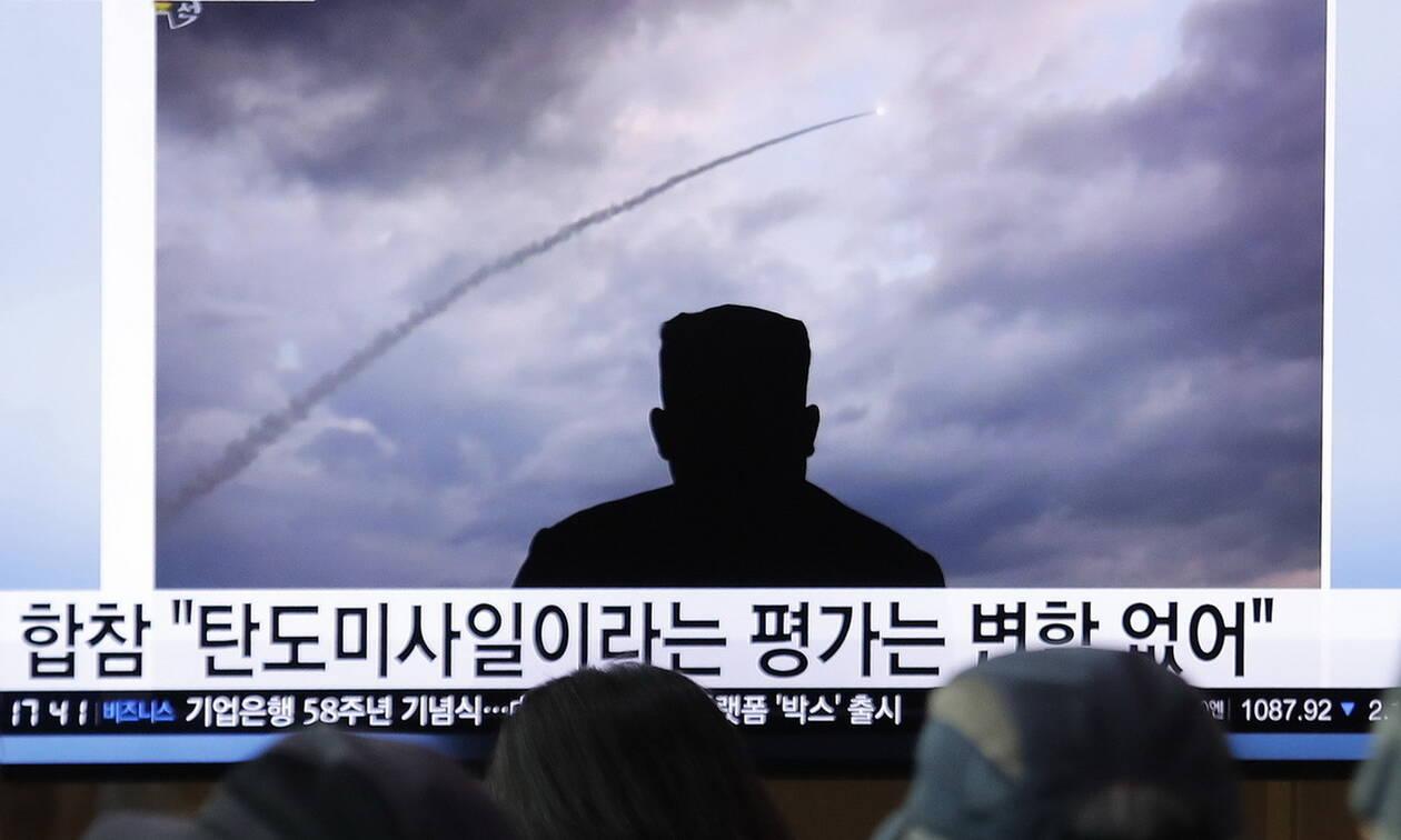 Νέες εκτοξεύσεις πυραύλων πραγματοποίησε η Βόρεια Κορέα