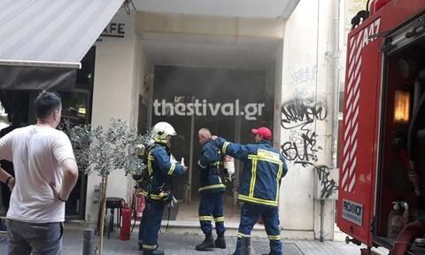 Θεσσαλονίκη: Μπλακ άουτ στο κέντρο - Έσκασε ρολόι της ΔΕΗ  (pics)