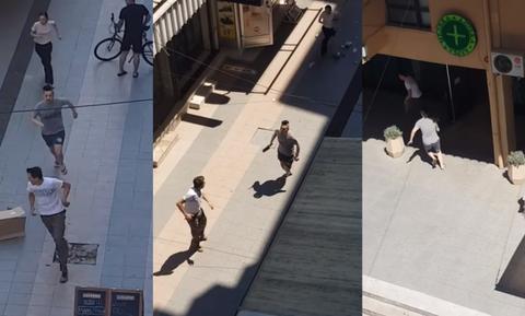 Πανικός στα Σκόπια: Πήγαν να σκοτώσουν πελάτη εστιατορίου με μπαλτά