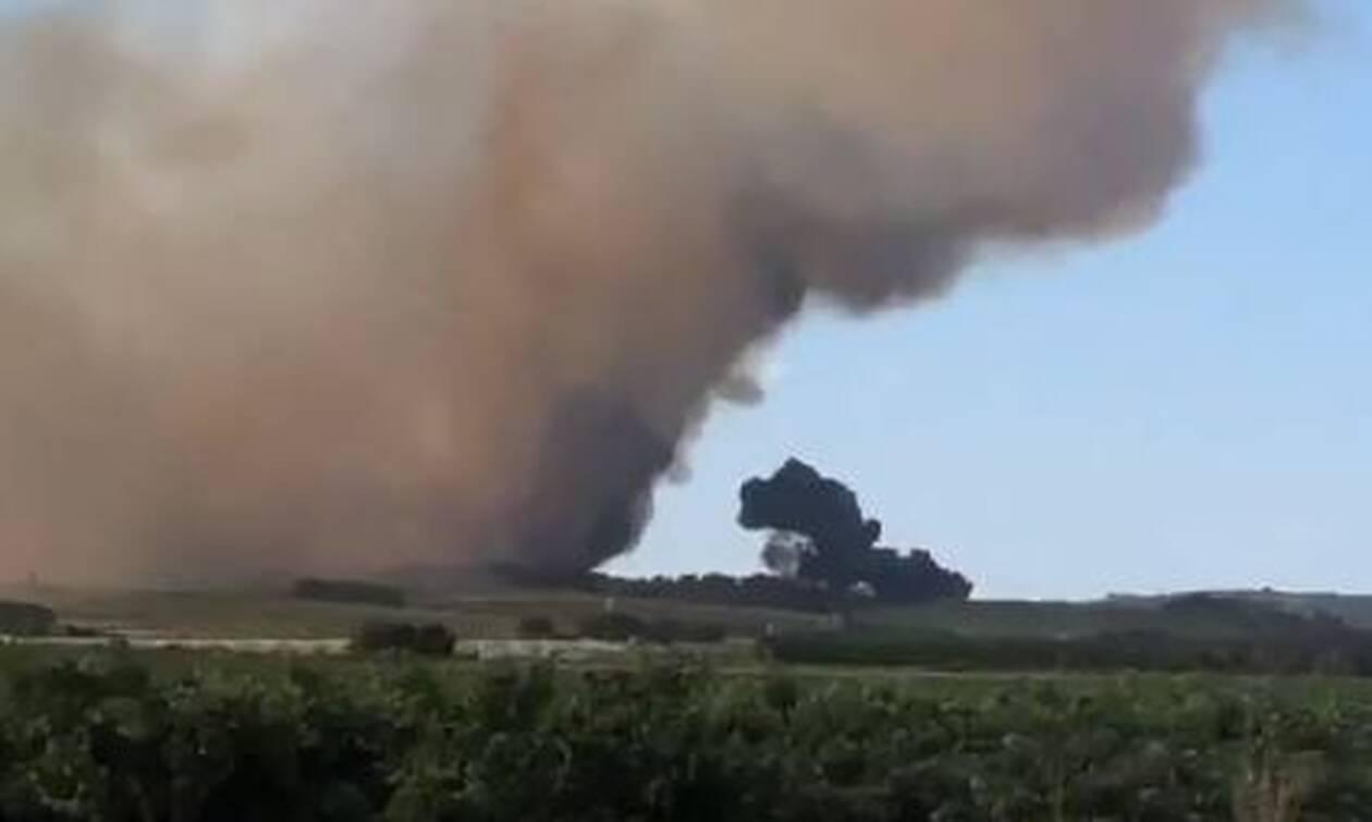 Συνετρίβη πυροσβεστικό αεροσκάφος στη Γαλλία - Νεκρός ο πιλότος (vid)