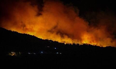 Νύχτα αγωνίας στην Αρχαία Ολυμπία - Ολονύχτια μάχη με τις φλόγες (pics)