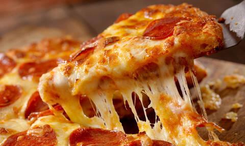 Μάθαμε για ποιο λόγο η πίτσα είναι στρογγυλή