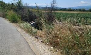 Σοκαριστικό τροχαίο στην Ημαθία: Αυτοκίνητο έπεσε σε αρδευτικό κανάλι - Επέβαινε οικογένεια