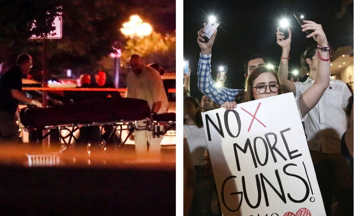Ματωμένο Σαββατοκύριακο στις ΗΠΑ: Τριάντα νεκροί σε Τέξας και Οχάιο – Συγκλονιστικές εικόνες