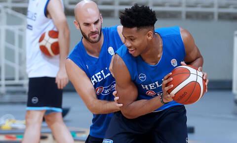 Καλάθης: «Η εξοικείωση του Giannis στο παιχνίδι της FIBA θα κρίνει πόσο μακριά θα πάμε»