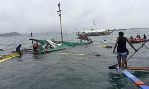 Φιλιππίνες: 31 νεκροί από τη βύθιση τριών φεριμπότ (pics)
