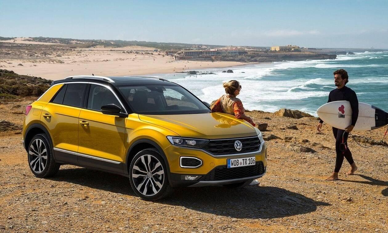 Το VW T-Roc κυριάρχησε στην κατηγορία των compact SUV το 1o εξάμηνο του έτους