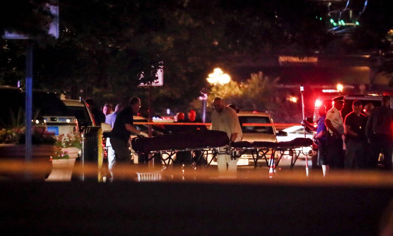 Φονική επίθεση στο Οχάιο: Η στιγμή που ο μακελάρης πέφτει νεκρός - ΠΡΟΣΟΧΗ ΣΚΛΗΡΕΣ ΕΙΚΟΝΕΣ