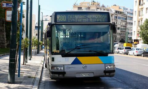 Σκηνές πανικού στου Ζωγράφου με «ακυβέρνητο» λεωφορείο (vid)