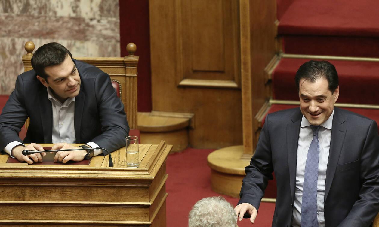Άγρια κόντρα Άδωνι - Τσίπρα στη Βουλή