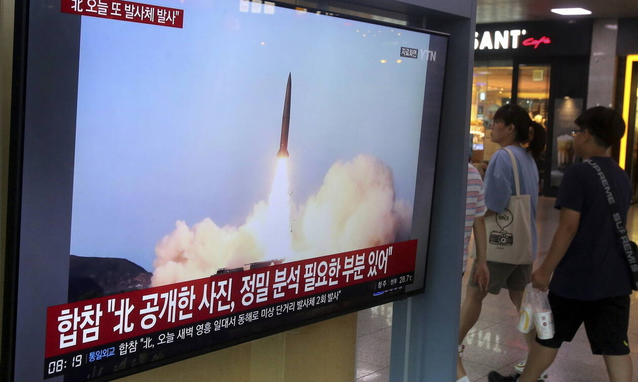 Νέες εκτοξεύσεις πυραύλων από τη Βόρεια Κορέα