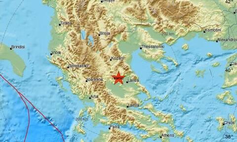 Σεισμός κοντά στη Λάρισα (pics)