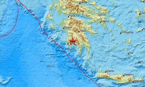 Σεισμός στην Καλαμάτα - Αισθητός σε αρκετές περιοχές (pics)