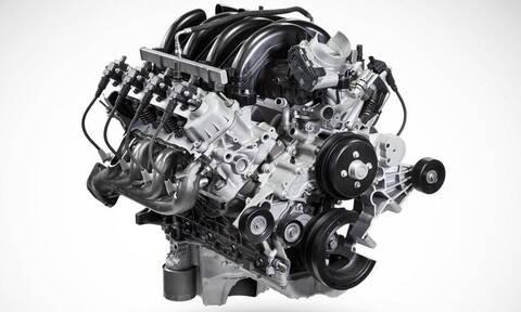 Πόσα κυβικά λέτε ότι είναι ο νέος V8 της Ford;