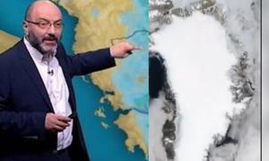 Καιρός: Το βίντεο που τρομάζει! Η τήξη των πάγων της Γροιλανδίας καρέ καρέ