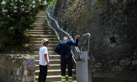 Elevator for persons with disabilities at the Acropolis to be repaired in four days