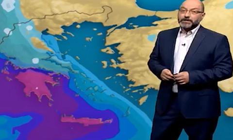 Καιρός: Προσοχή. Έκτακτη προειδοποίηση του Σάκη Αρναούτογλου για το Σαββατοκύριακο (video)