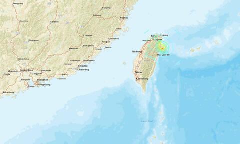 Σεισμός 5,9 Ρίχτερ συγκλόνισε την Ταϊβάν