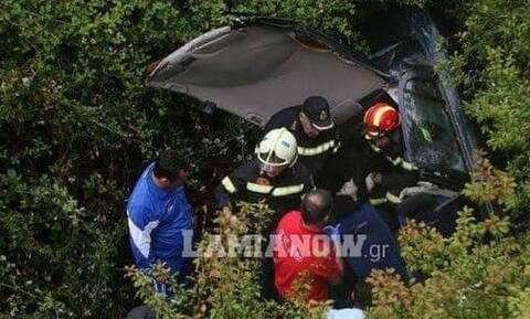 Φθιώτιδα: 90χρονος έπεσε με το αυτοκίνητό του σε γκρεμό και σώθηκε...