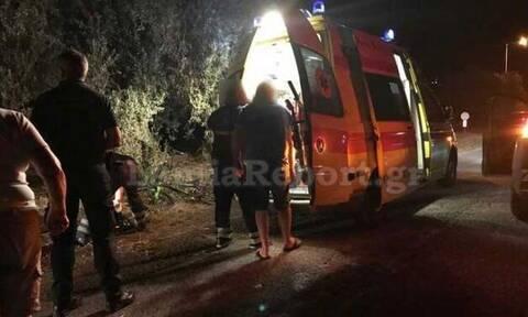 Τραγωδία στη Λαμία: Οδηγός παρέσυρε ανήλικους ποδηλάτες - Νεκρός ένας 14χρονος (pics)