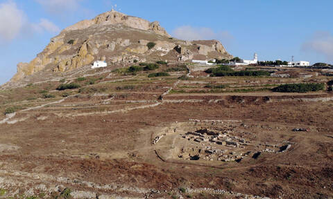 Σπουδαία αρχαιολογική ανακάλυψη στην Τήνο - Δείτε τις φωτογραφίες